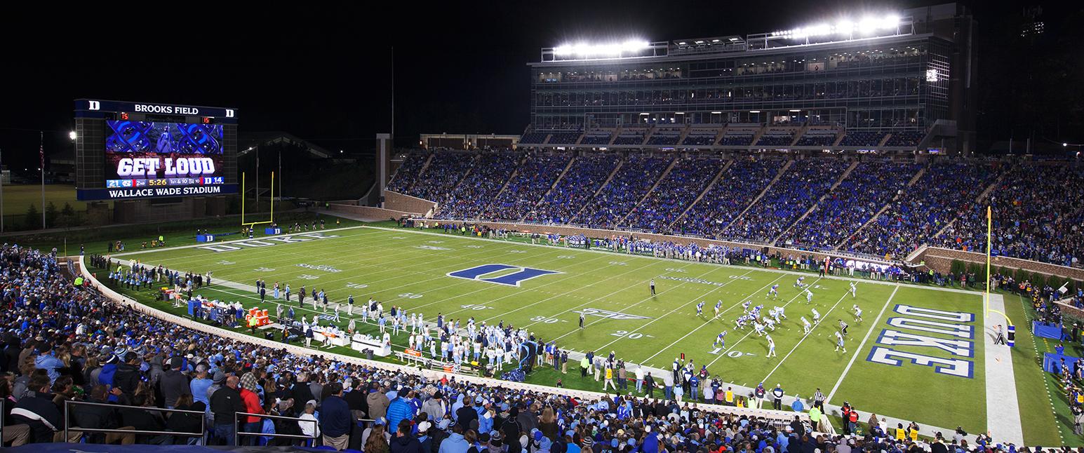 Duke University Wallace Wade Stadium Renovation Mcadams